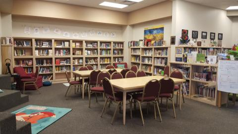 Community Open Space Library Room