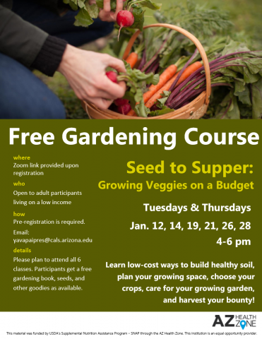 Seed to Supper flyer